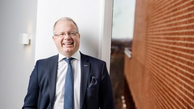 Martin Lundstedt, CEO at Volvo Group