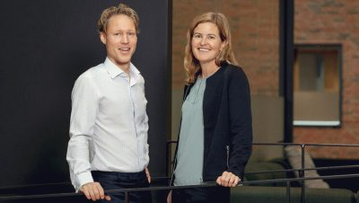 Henrik Bojö and Jenny Osbeck at Volvo Buses work with developing new connected services that will help customers save fuel, improve safety and increase uptime.