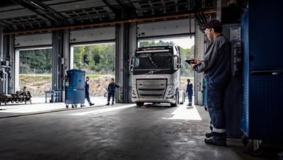 Onderhoud en reparatie officiële Volvo Trucks-dealers