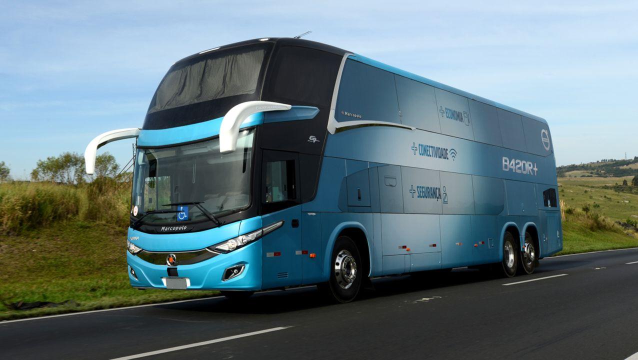 Volvo passa a oferecer ônibus rodoviários por assinatura