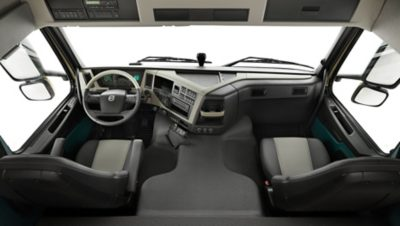 全新沃尔沃FM系列完美的驾驶员环境