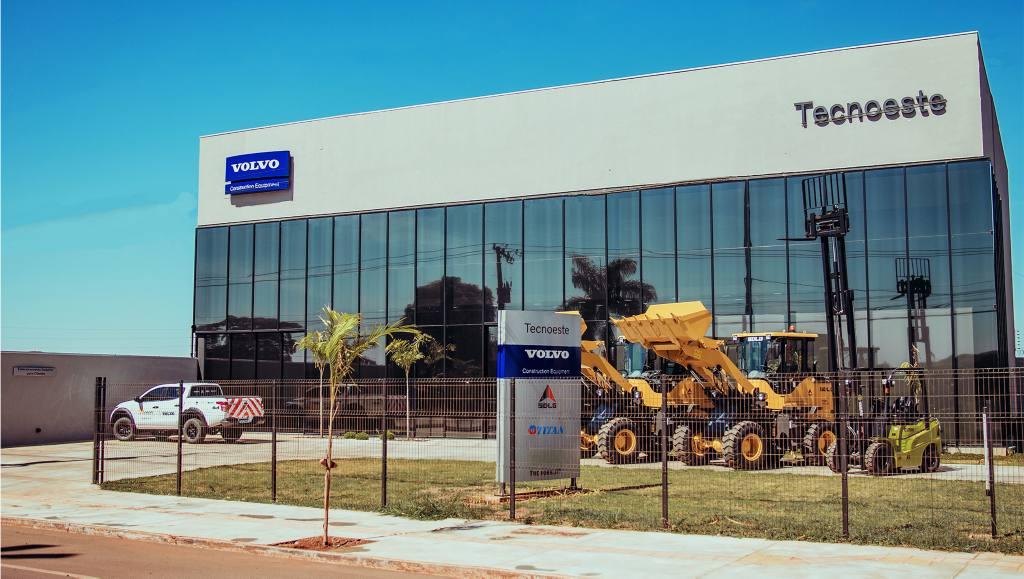Tecnoeste amplia rede Volvo CE com nova unidade em Dourados