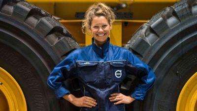 열정은 Volvo Group의 핵심 가치 중 하나입니다.