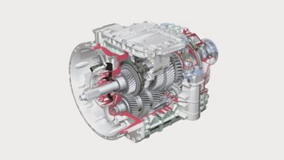 Ilustração do Volvo FH I-shift