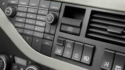 แผงควบคุมของ Volvo FH