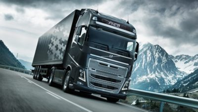 Volvo FH 16 I-shift on road