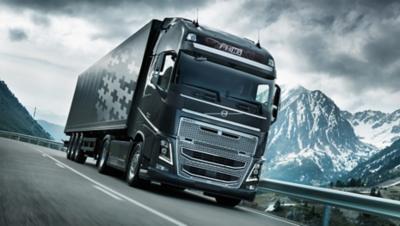 Volvo FH16 avec transmission I-Shift à double embrayage sur la route