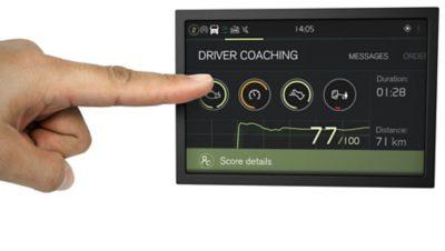 Sistemas fáceis de utilizar do Volvo FMX