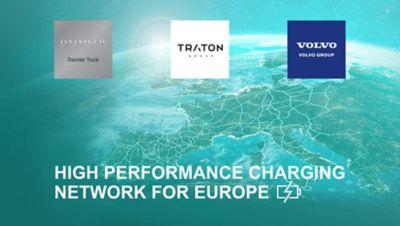 Volvo Group, Daimler Truck a TRATON GROUP podpísali nezáväznú dohodu o inštalácii a prevádzkovaní vysokovýkonnej verejnej nabíjacej siete pre akumulátorové elektrické ťažké nákladné vozidlá v celej Európe.