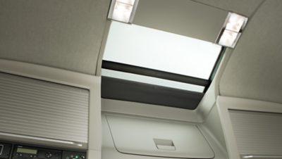 Volvo FH safety hatch