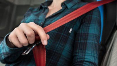 Volvo FH safety seatbelt