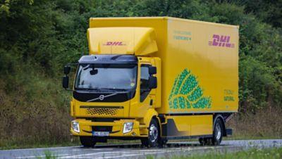 První elektrické nákladní vozidlo Volvo FL Electric