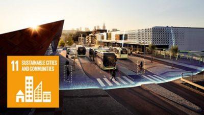 FN-mål 11: Hållbara städer och samhällen