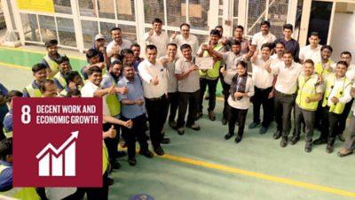 UN SDG 8 – Decent work and economic growth