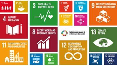 Quatre personnes construisant un monde durable   Stratégie de développement durable   Groupe Volvo