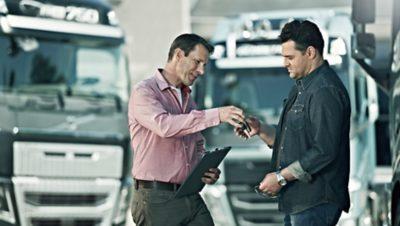 Volvo Group salesman