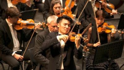 Fem fiolspelara från Göteborgs Symfoniker