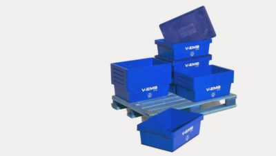 V-EMB small plastic containers