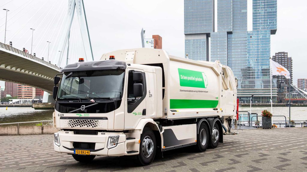 Stille én schone huisvuilinzameling in Rotterdam