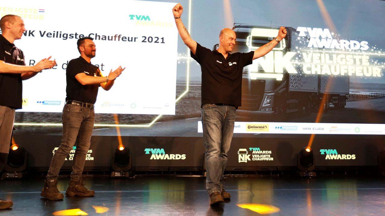 René de Baat wint NK Veiligste Chauffeur