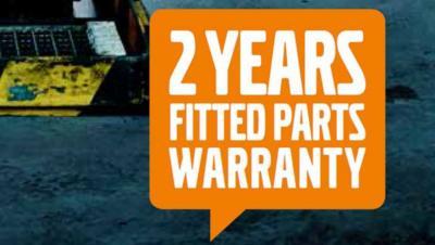 2 jaar garantie op originele Volvo Trucks-onderdelen
