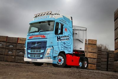 P Harper & Sons has added a new Volvo FH Lite with I-Save to its 18-strong fleet