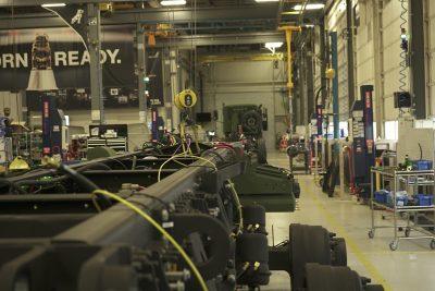 Mack Defense HDT production line