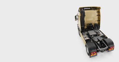 Descrição geral da estrutura do chassis do Volvo FM