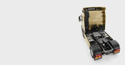 Volvo FM chassis layout overview