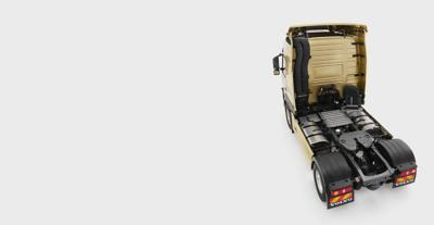 Descripción general del diseño del chasis del Volvo FM