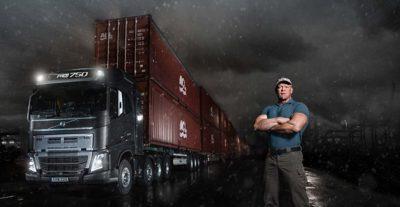 Volvo FH crawler gear 750 tonnes