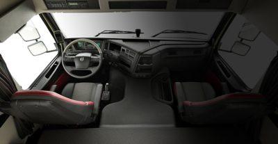 ที่ทำงานอันเปี่ยมประสิทธิภาพของ Volvo FMX