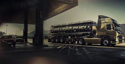 Eficiência de combustível do Volvo FM