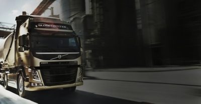 Volvo FM gold contract golden truck