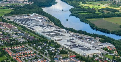 Umeå is the Volvo Group's largest production unit