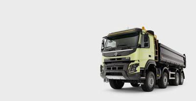 Le Volvo FMX: à l'aise dans les environnements les plus difficiles