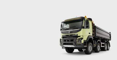 The Volvo FMX: well suited for the toughest environments