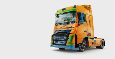 Studio de tests de collisions pour évaluer la sécurité du Volvo FH
