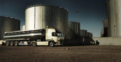 Volvo FM tridem oiltanks