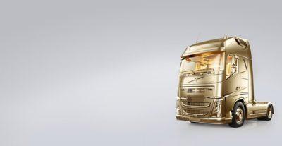 Volvo FH, un véhicule en or