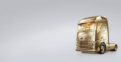 Volvo FH, the golden truck