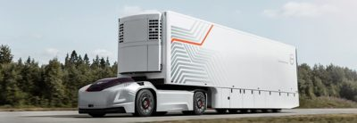 The fully automated and electric truck Vera