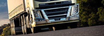 As linhas aerodinâmicas do novo Volvo FM