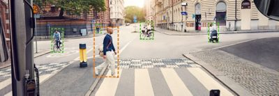 The vision of autonomous buses