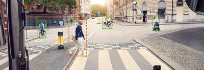 Видение автономных автобусов