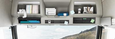 Volvo FM 駕駛艙內裝的工作場所