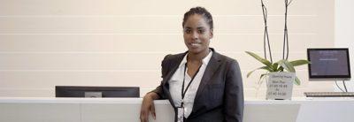 Maria Olsson - Receptionist på Volvo Construction Equipment