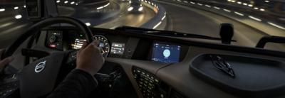 Volvo FH infotainment hero truck interior