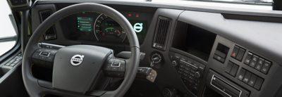 Volvo FMX steering wheel cab studio