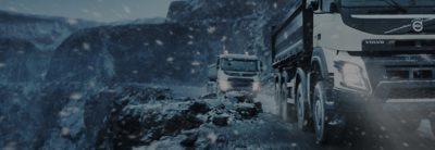 Volvo FMX rainfall construction